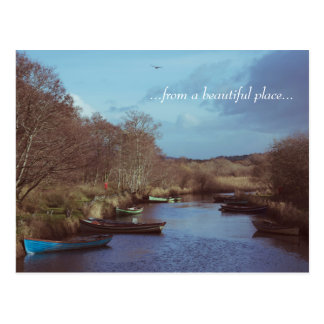 River irlandesa Beauty Postcard Postal