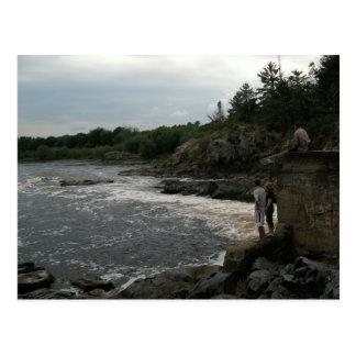 River Isaiah 43:2 Postcard