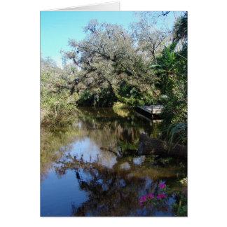 River Landing Card