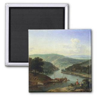 River Landscape, 1697 Magnet