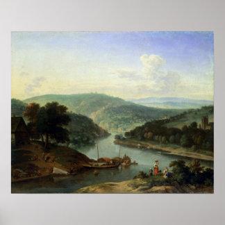 River Landscape, 1697 Poster