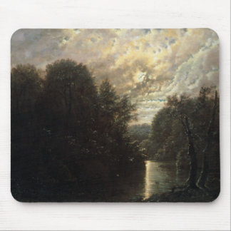River Landscape in the Rosental near Leipzig Mouse Pad