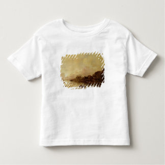 River landscape toddler t-shirt
