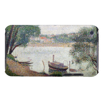 River Landscape with a boat Case-Mate iPod Touch Case