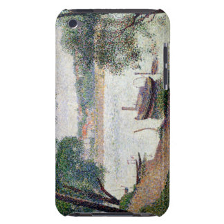 River Landscape with a boat iPod Touch Case