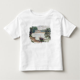 River Landscape with a boat Toddler T-shirt