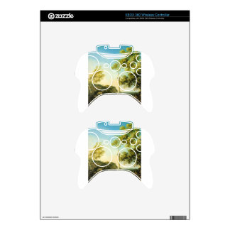 River Landscape with a Column by Canaletto Xbox 360 Controller Decal