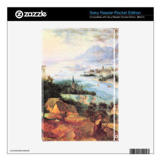 River Landscape with a sower by Pieter Bruegel Decal For The Sony Reader