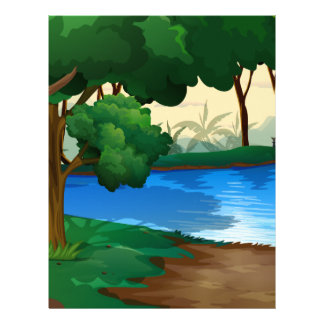River Letterhead
