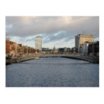 River Liffey Ireland Dublin Postcard