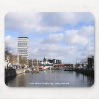River Liffey, Liberty Hall & Customs House Mouse Pad