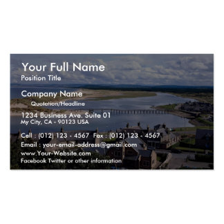 River Lossie, Lossiemouth, Grampian, Scotland Double-Sided Standard Business Cards (Pack Of 100)