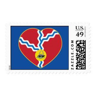 River Lover Stamp