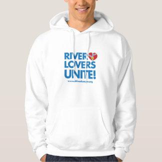 River Lovers Unite Hoodie