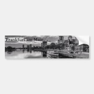 River Main in Frankfurt am Main Bumper Sticker