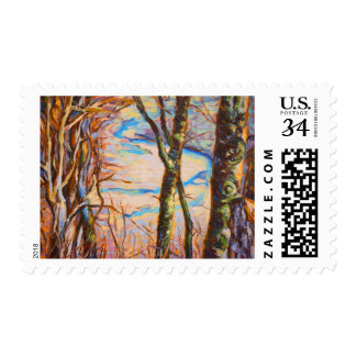 River Meanders Postage