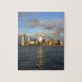 River Mersey & Liverpool Waterfront Jigsaw Puzzle