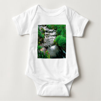 River Mount Adams Yakima Indian Reservation Baby Bodysuit
