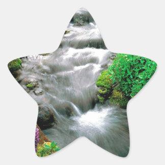 River Mount Adams Yakima Indian Reservation Star Sticker