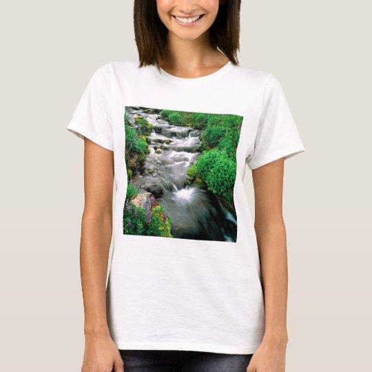 River Mount Adams Yakima Indian Reservation T-Shirt