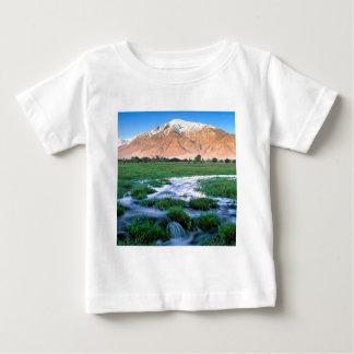 River Mount Tom Owens Valley East Sierra Baby T-Shirt