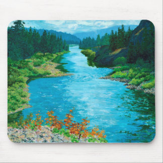 River Mouse Pad 1