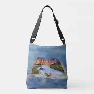 River Murray, Page In A Book Cross Body Bag