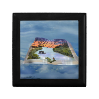 River Murray, Page In A Book, Keepsake Box