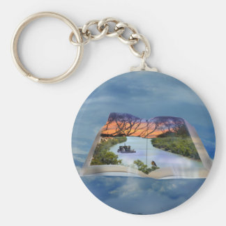 River Murray, Page In A Book, Keychain