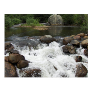 River Near Peaceful Valley, Colorado Postcard