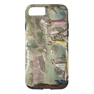 River near San Benedetto, Madagascar, plate 81 fro iPhone 8/7 Case