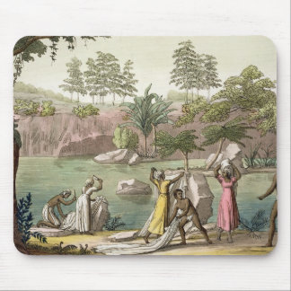 River near San Benedetto, Madagascar, plate 81 fro Mouse Pad