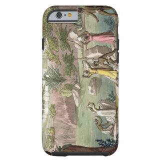 River near San Benedetto, Madagascar, plate 81 fro Tough iPhone 6 Case