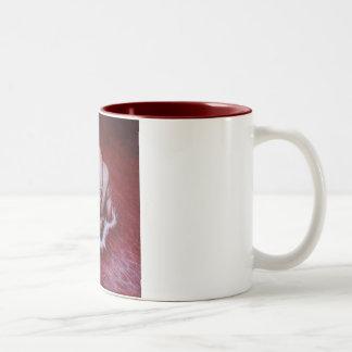 River of Blood Two-Tone Coffee Mug