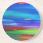 River of Gold Beverage Coasters