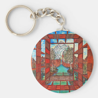 River of Healing Line Keychain
