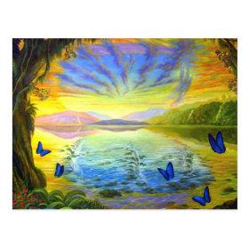 River Of Life-Postcard
