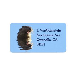 River Otter Address Labels