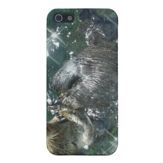 River Otter Animal-lover's Wildlife Photo iPhone SE/5/5s Cover