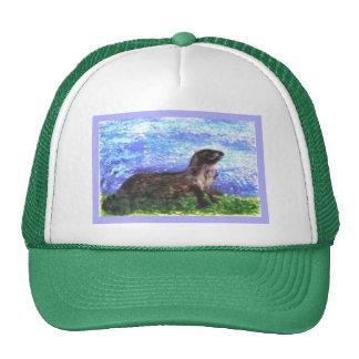 River Otter Art Trucker Hat