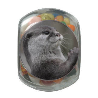 River Otter Jelly Belly Candy Jars