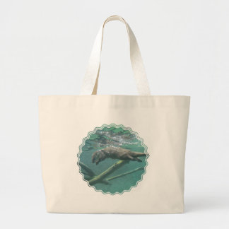River Otter  Canvas Tote Bag
