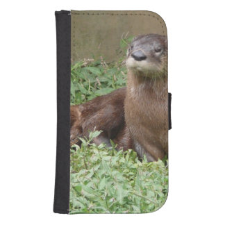 River Otter Galaxy S4 Wallet Cases