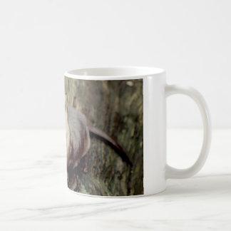 River Otter Posing Classic White Coffee Mug