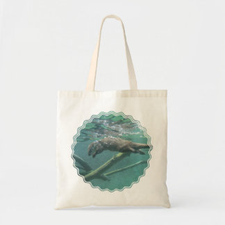 River Otter Small Canvas Bag
