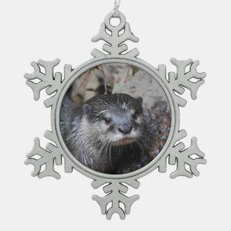 River Otters Ornaments