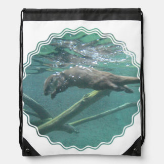 River Otters Cinch Bags