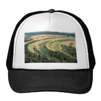 River Oxbows - Aerial View Trucker Hats
