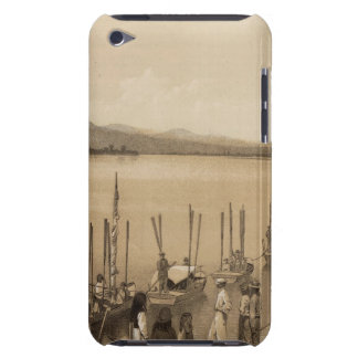 River party, Camp Mohave iPod Touch Cover