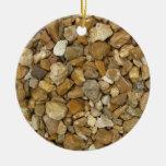 River Pebbles Christmas Tree Ornament